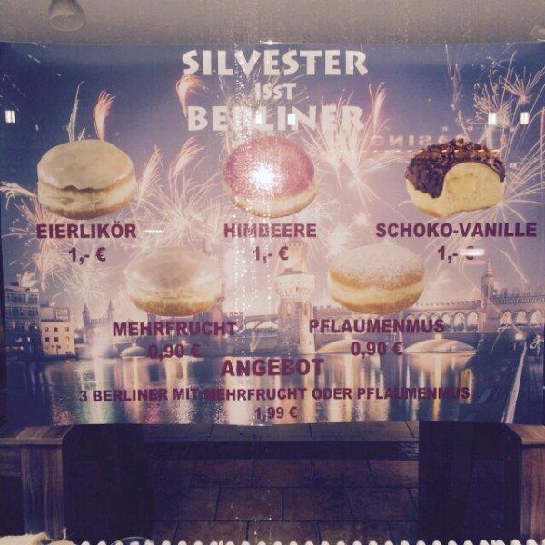 Berliner zum Sylvester in Berlin