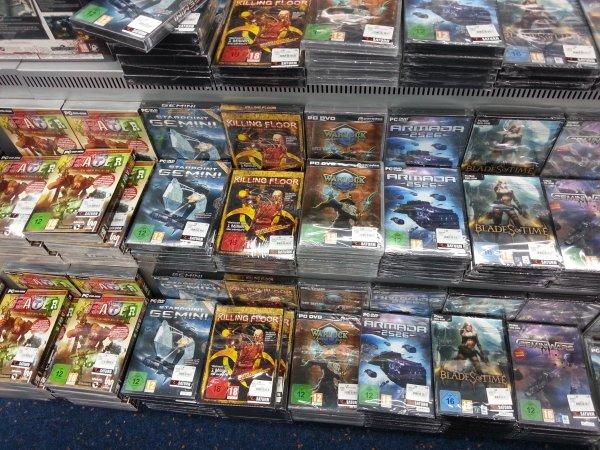 [Lokal Saturn Berlin Alex.] Computerspiele für 1,99 und 2,99 zb Killing Floor, Space Marine, Bioshock usw