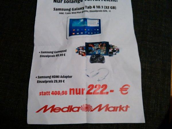 [Lokal Media Markt Stuttgart HBF] Samsung Tab 4.  32 gb