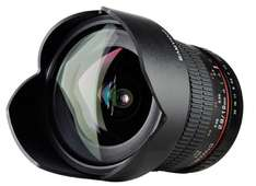 Samyang 10mm F2.8 ED AS NCS CS - Superweitwinkel Objektiv für Sony Alpha DSLR @ Amazon.com