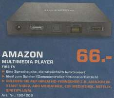 Saturn Hamburg, Amazon Fire TV für 66 Euro