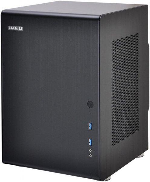 Lian Li PC-Q33A (schwarzes Mini-DTX/Mini-ITX-PC-Gehäuse aus Aluminium) - 69,90€ @ ZackZack