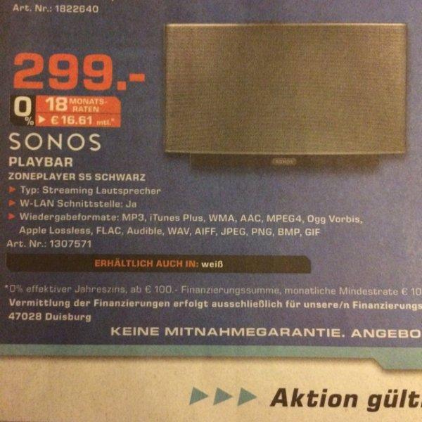 Sonos Zoneplayer 5 für 299€ in Flensburg