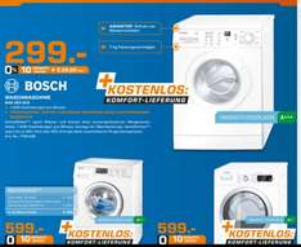 Bosch WAE 283 eco Waschmaschine local @ Saturn Stuttgart