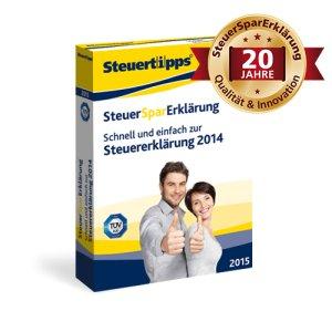 SteuerSparErklärung 2015 für 15,40 € als Download oder 17 € auf DVD im Spar-Abo (jederzeit kündbar) / Qipu 15 % Rabatt vllt. kombinierbar!?