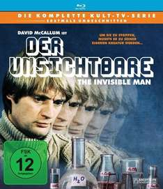 (Amazon.de) (Prime) (BluRay) (Kult) Der Unsichtbare / The invisible Man - Die Komplette Serie