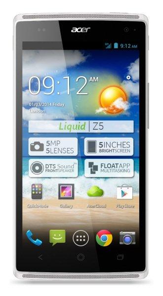 Acer Liquid Z5 Dual-Sim Smartphone @ Amazon WHD für € 85,96 vs. 136,05 € (Idealo)