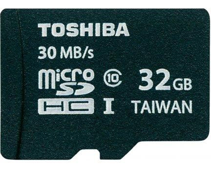 auf ein neues: TOSHIBA (micro) SD-C032UHS1 CL.10 32 GB + Adapter versandkostenfrei [MediaMarkt]