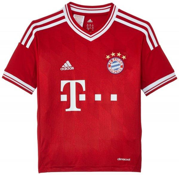 [Amazon.de] FC Bayern Home-Trikot Gr. 176 (wie S) Saison 2013/2014 (Prime 19,99€)