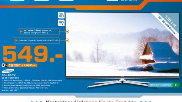 549€ !!! [LOKAL Berlin] Samsung UE55H6270 SSX