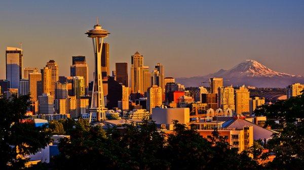 Flüge: Seattle ab diversen deutschen Airports 423,- € hin und zurück (Januar - März und November - Dezember)