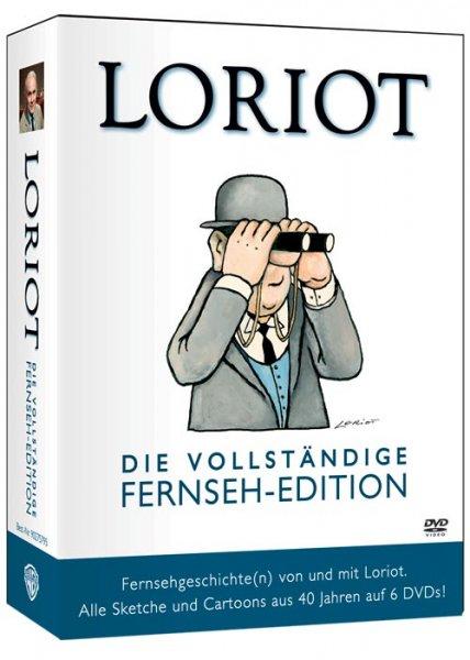 [Saturn.de] Loriot - Die vollständige Fernseh-Edition Komödie [6 DVDs] für 19,99 Euro VSK-frei (15 Euro möglich)