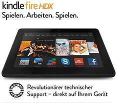 Kindle Fire HDX 7 / WLAN / 16 GB / mit Spezialangeboten / @Warehousedeals