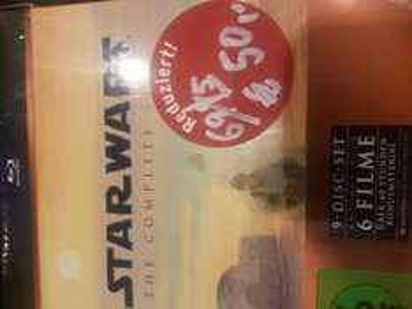 Star Wars Complete Edition Blu-Ray bei Tchibo für 50€