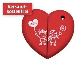Für die Nerdfreundin: Maxell Love Heart 4GB USB-Stick für 5€ @Media Markt