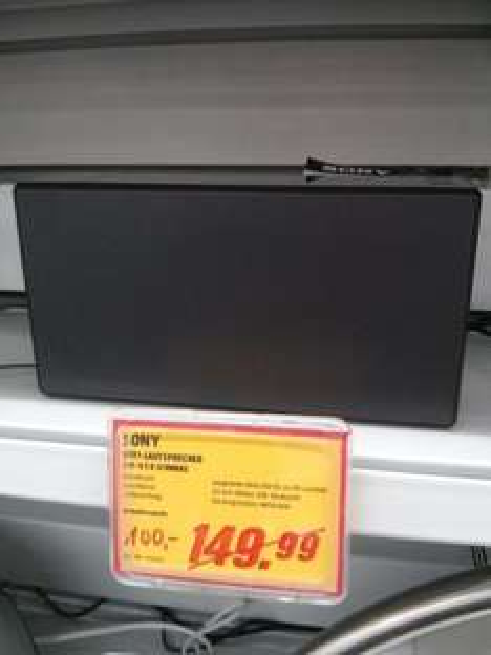 [Lokal RV] Sony SRS-X5 Bluetooth Speaker @Media Markt Ravensburg