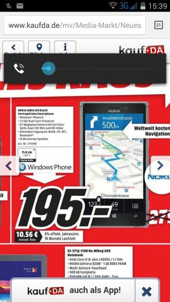 Nokia Lumia 925 @ Mediamarkt Rheine