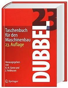 Dubbel Taschenbuch für den Maschinenbau 23. Auflage + Paybackpunkte