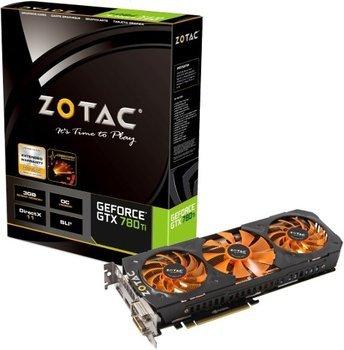 Zotac GeForce GTX 780 OC 3GB GDDR5 Grafikkarte PCIe 2xDVI/HDMI/DP - Retail für 299 Euro @Cyberport (Offline)