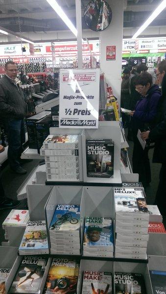 50% Rabatt auf alle Magix Produkte(Media Markt Magdeburg am Pfahlberg)