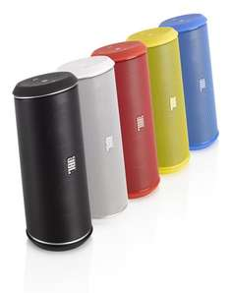[Nürnberg, Schwabach, Ansbach] JBL Flip II portabler Stereo-Aktiv-Lautsprecher (Bluetooth, NFC, Bassreflex) (Media Markt)