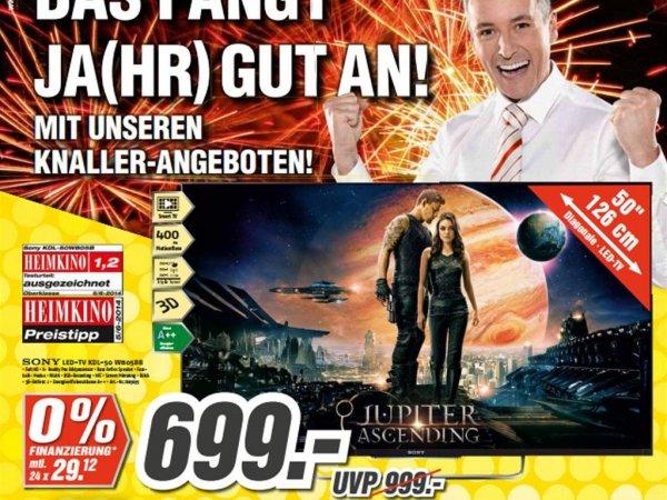"""[Lokal] Sony KDL-50W805B (B) """"FullHD"""" Medimax Gotha"""