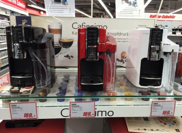 Saeco CAFISSIMO Latte für 169€ (lokal bei MM Berlin-Charlottenburg und online bei Saturn)