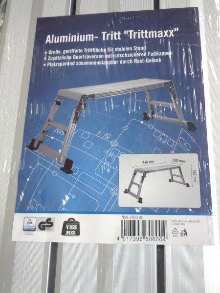 [Lokal] Penny 50259 - Aluminium Tritt / Arbeitsplattform / Arbeitsbühne 15€