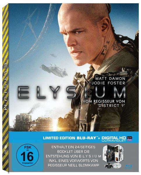 Elysium Blu-ray (Müller-Exklusives Digibook)