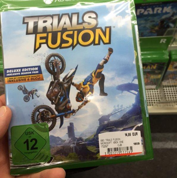 Trials Fusion Xbox One mit Season Pass Lokal im MM Mannheim Sandhofen