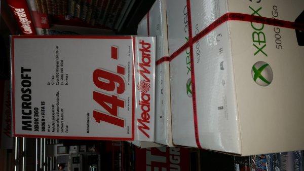 [MM Braunschweig] XBOX 360 (500GB) mit FIFA 15
