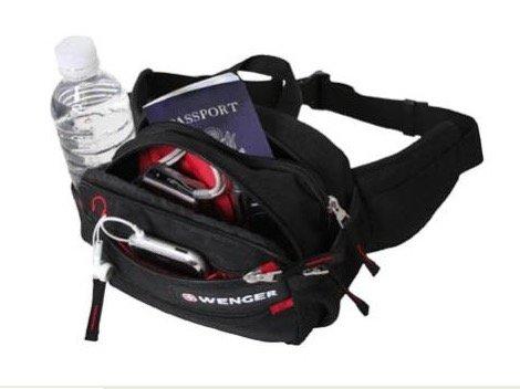 Wenger Hüfttasche (3 Liter, 4 Fächer, 2 kleine Seiten-Netze) für ca. 12€ inkl. VSK (3% Qipu möglich!) @ dealclub