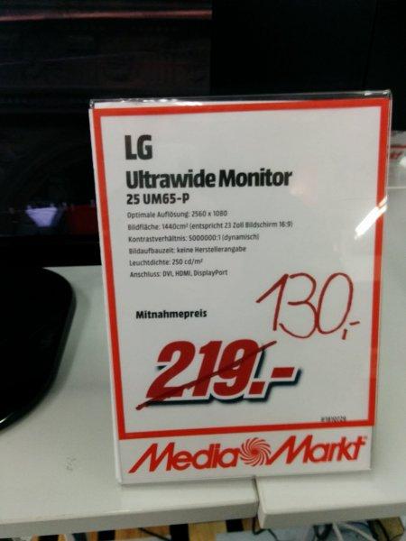 MM lokal Lüneburg LG 25UM65-P 63,5 cm (25 Zoll) LED Monitor