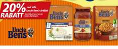 @real 20% auf alle uncle bens Produkte