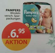 [Drogerie Müller] Pampers baby-dry Folien Pack