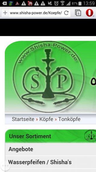 Räumungsverkauf bei Shisha-Power.de