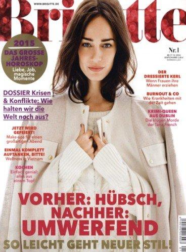 5 Ausgaben der Brigitte für 9,90 € lesen und 10,-€ Amazon-Gutschein erhalten