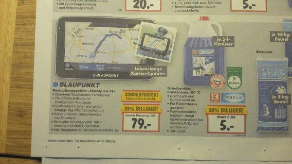 [ Lokal Solingen] Blaupunkt Travelpilot 51EU