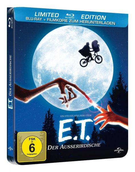 E.T. - Der Außerirdische [Limited Edition] (Steelbook) [Blu-ray] für 7,97 € > [amazon.de] > Prime