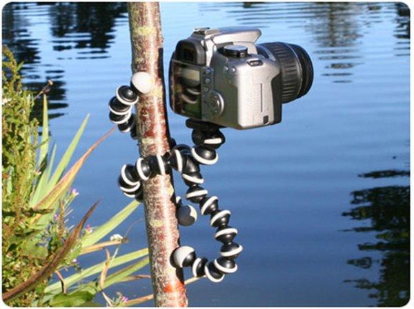 Mini Kamera Stativ - biegsam und überall anzubringen