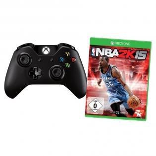 WIEDER DA: XBOX One Wireless Controller + NBA 2K15 bei redcoon mit Zahlungsart Klarna - 28% Ersparnis