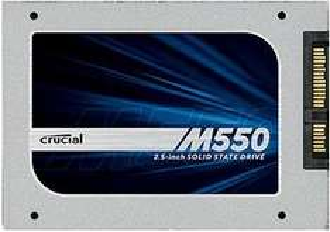 "Crucial M550 2,5"" SSD - 128GB - 48 Euro, 512GB - 163 Euro bei crucial.com"