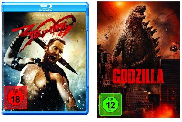 [Lokal]300: Rise of an Empire [Blu-ray] 6,99€ Expert-Klein Mainaschaff, Godzilla DVD 5,-€