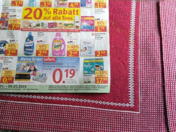 Rossmann Kw02/2015 Pampers für 9,89€