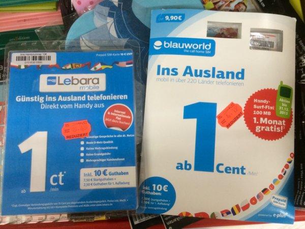 Prepaid Karten Ausverkauf Kaufland DD Weixdorf