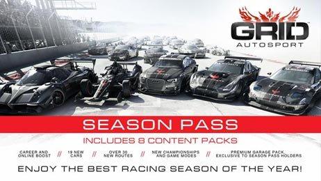 Grid Autosport Season Pass für 3,49 @G2A
