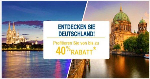 Accor Private Sale - bis zu 40 % Rabatt auf Hotelbuchungen
