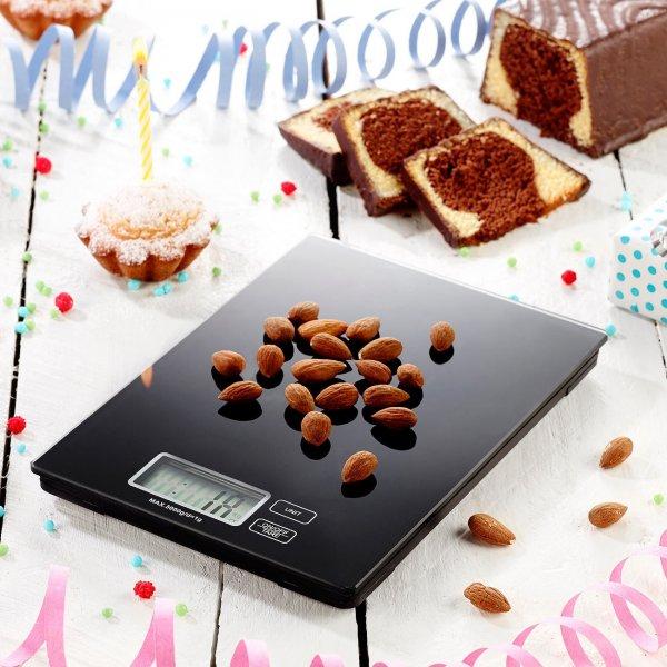 Digitalwaage für Küche und Büro (bis 5 kg) inkl.Vsk für 6,90 € > [ebay.de] > Pearl