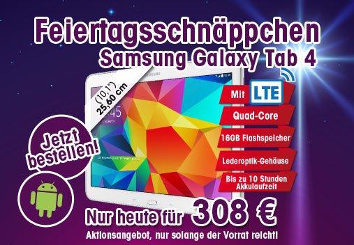 Samsung Galaxy Tab 4 10.1 T535N mit LTE 16GB