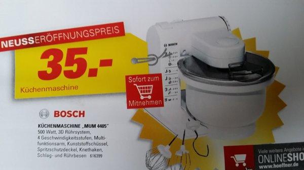 Bosch MUM 4405 -Lokal?-